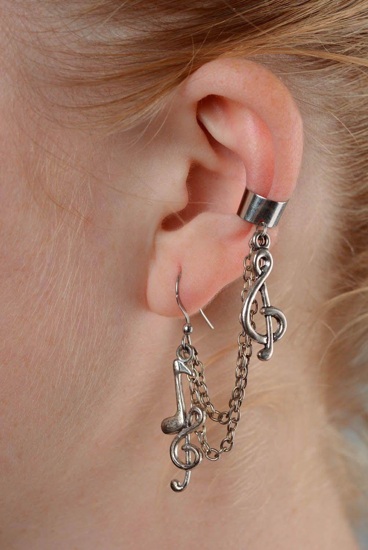 Hypoallergenic earrings Symphony photo 3