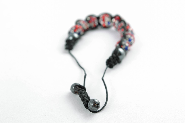 Handmade Armband aus Glasperlen   foto 2