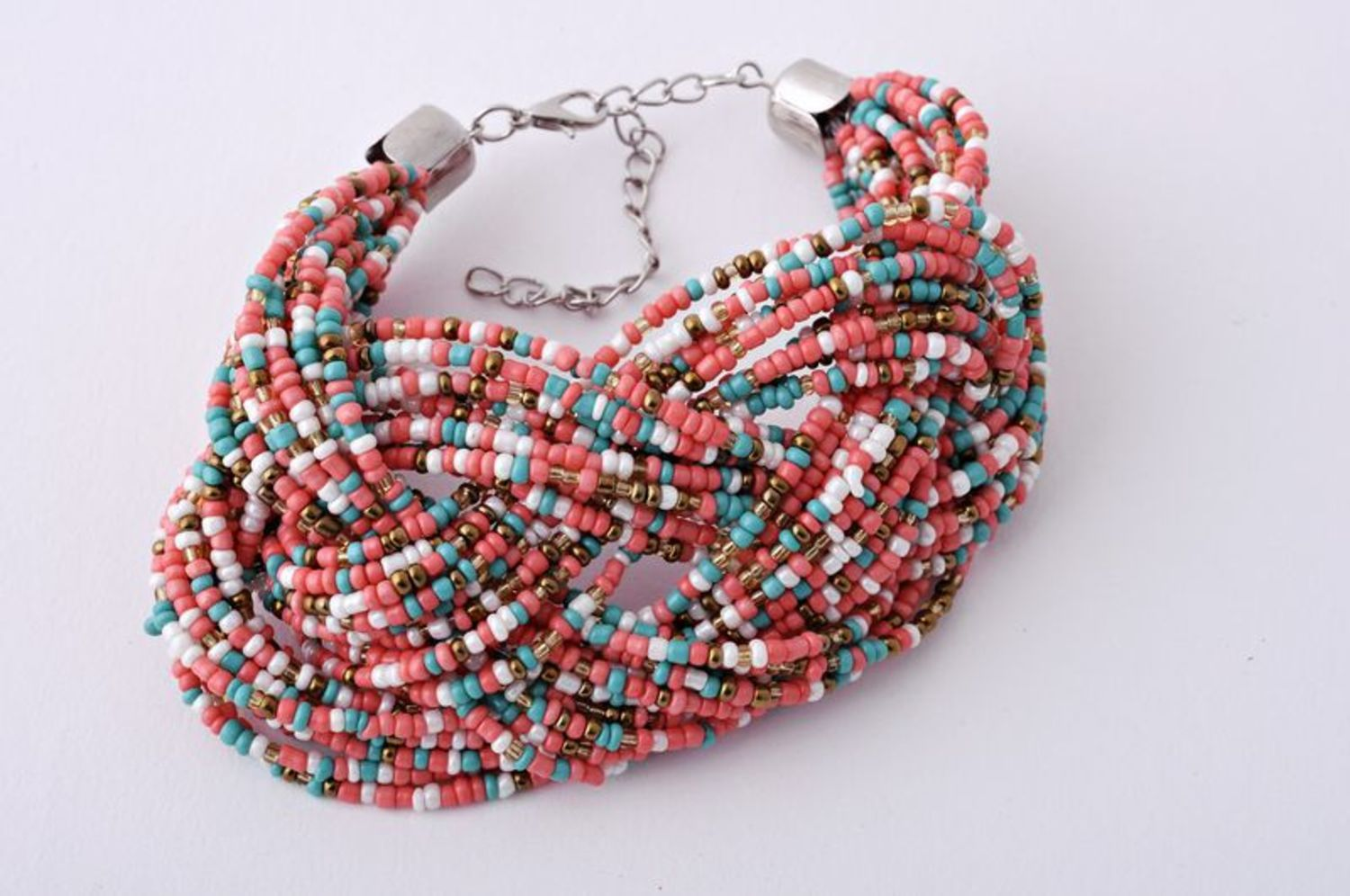 Multi-layer beaded bracelet photo 5