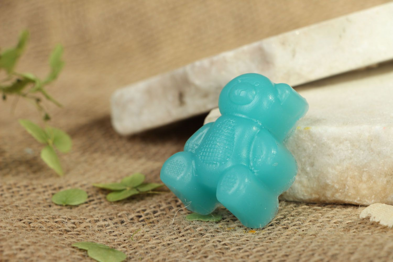 Gift soap in the shape of bear photo 4