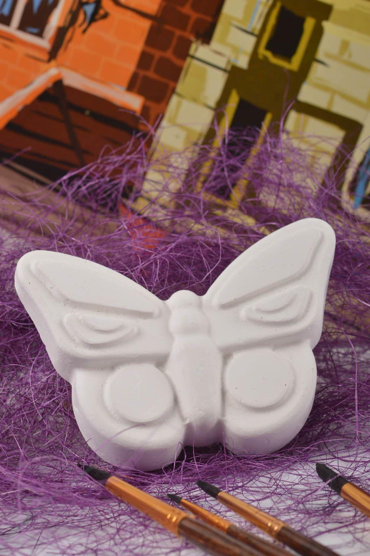 Figurines à Peindre Figurine En Platre A Peindre Faite Main Papillon  Loisirs Créatifs Pour Enfants