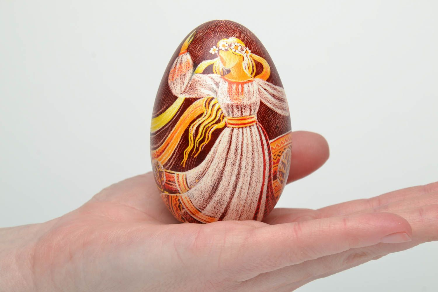 Designer pysanka in Ukrainian style Spring photo 6