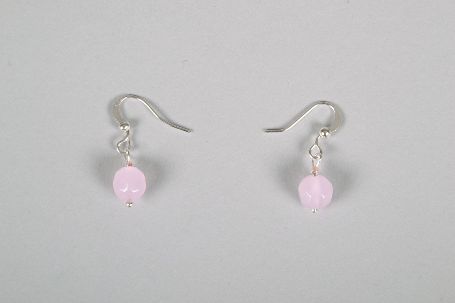 Neat earrings with charms photo 2