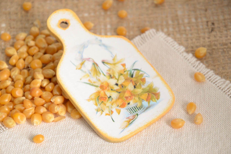Handmade fridge magnet kitchen supplies decoupage ideas decorative use only photo 1
