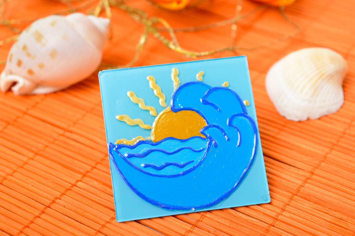 Unusual handmade fridge magnet funny magnets small gifts decorative use only photo 1