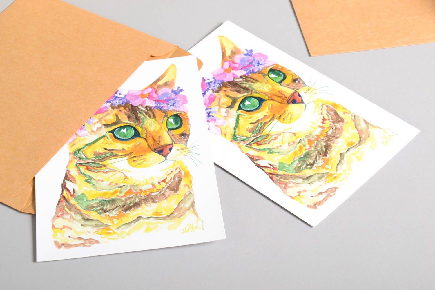 Handmade greeting cards unusual card greeting cards gift ideas unusual gift photo 4