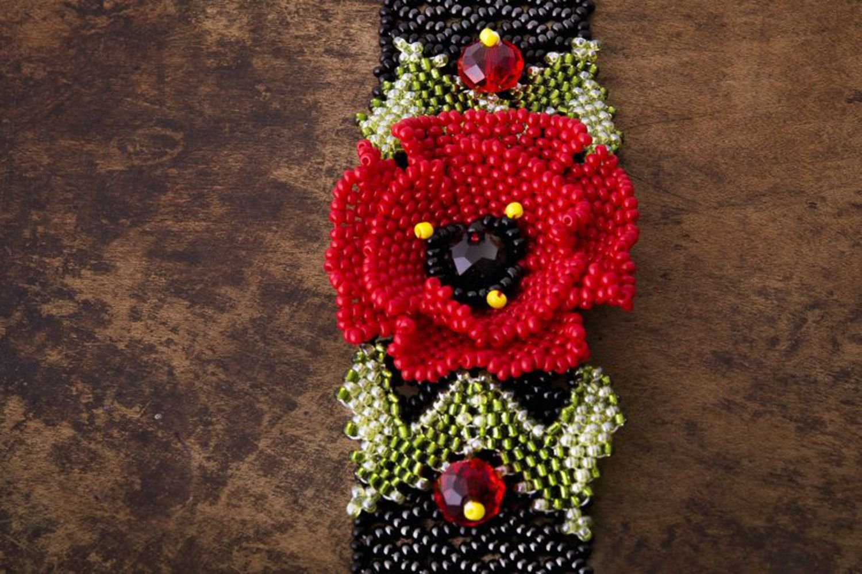 Beaded bracelet Poppy  photo 1