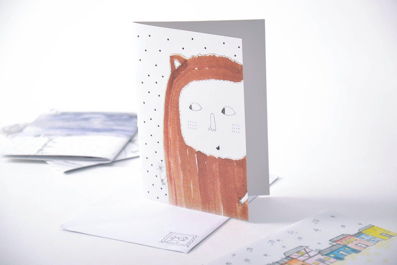 авторские открытки иллюстрации целью разделения помещения