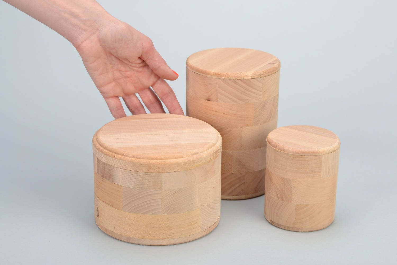 Madeheart piezas en blanco de madera para cocina for Productos para cocina