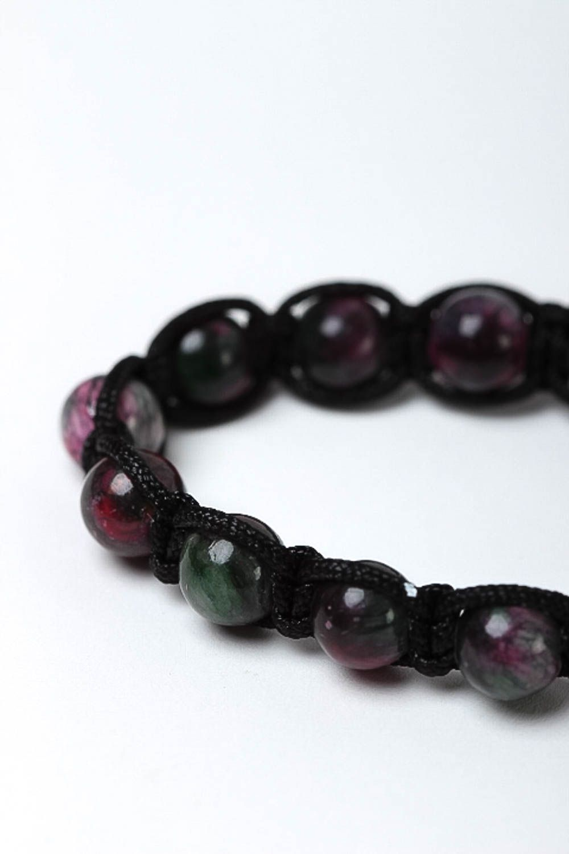 Handcrafted jewelry bead bracelet gemstone jewelry womens accessories photo 3