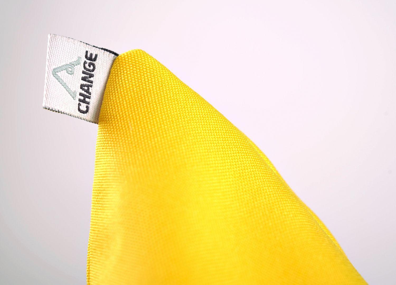 Yellow pillow for yoga photo 3