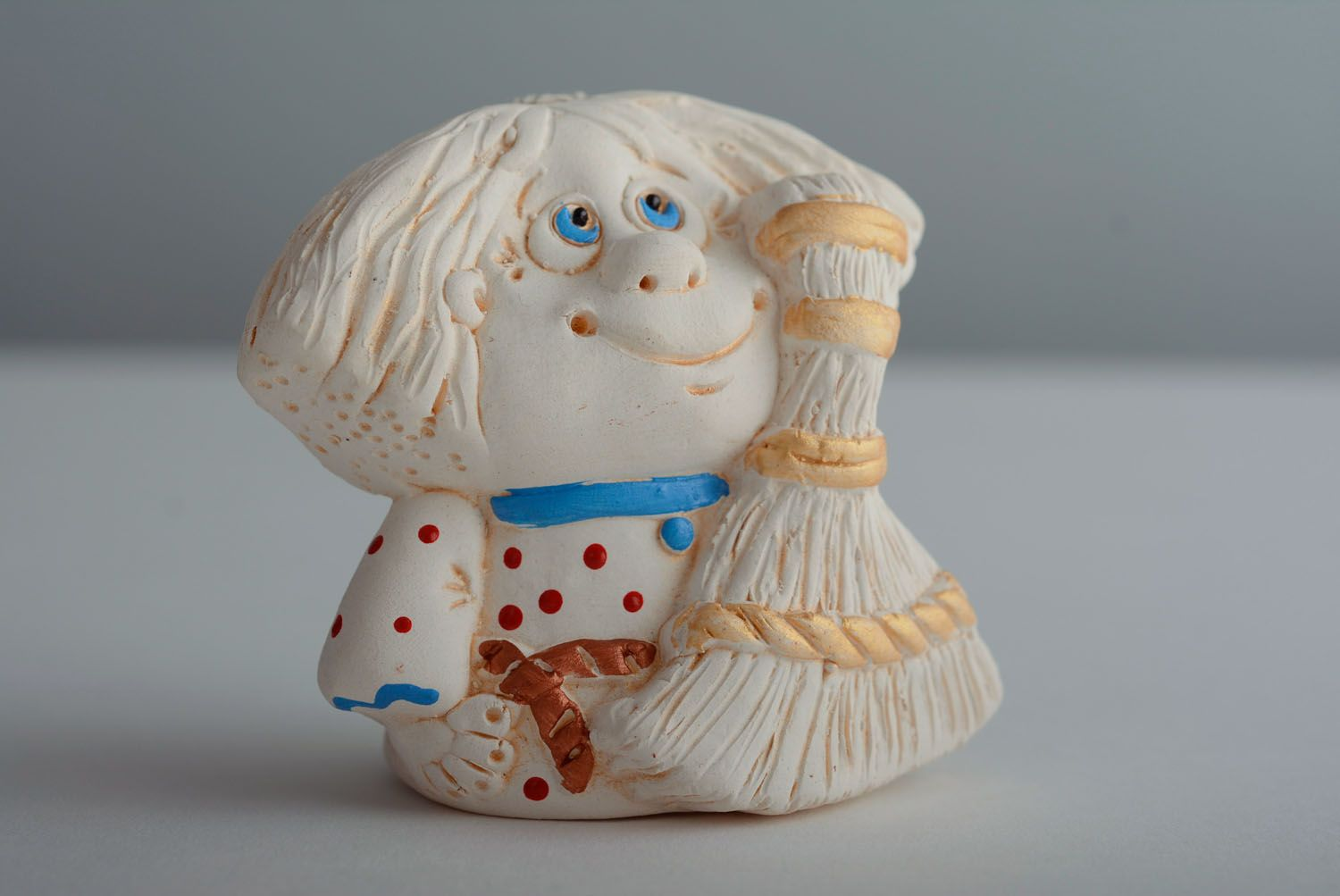 Designer ceramic bell Brownie photo 1