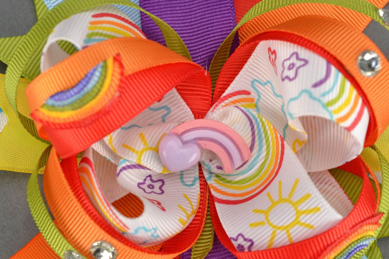 Детская повязка Веселая радуга  фото 3