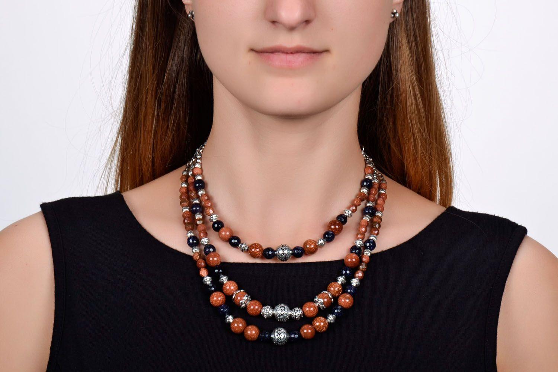 Necklace with aventurine photo 1