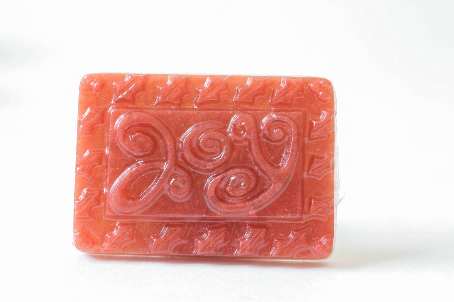 Calming soap with essential oil of St. John's wort photo 3