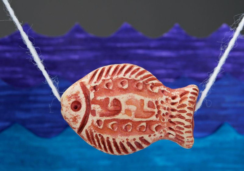 Керамическая подвеска Рыбка фото 1