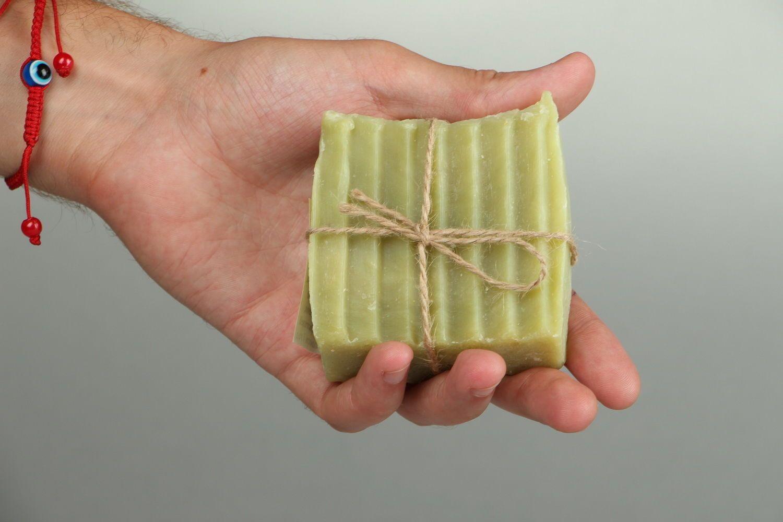 Soap contracting pores Cucumber photo 5