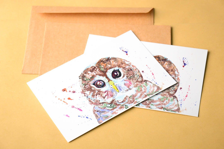 Handmade card unusual card exclusive cards gift ideas unusual greeting card  photo 1