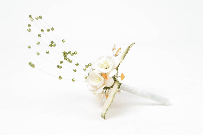 Handmade decorative flowers paper flowers paper craft interior composition photo 2