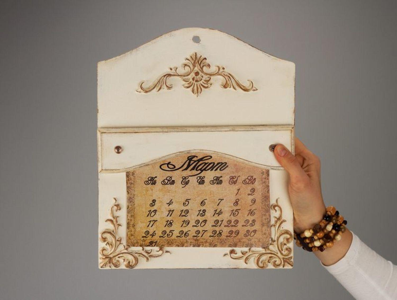 Wall wooden calendar - MADEheart.com