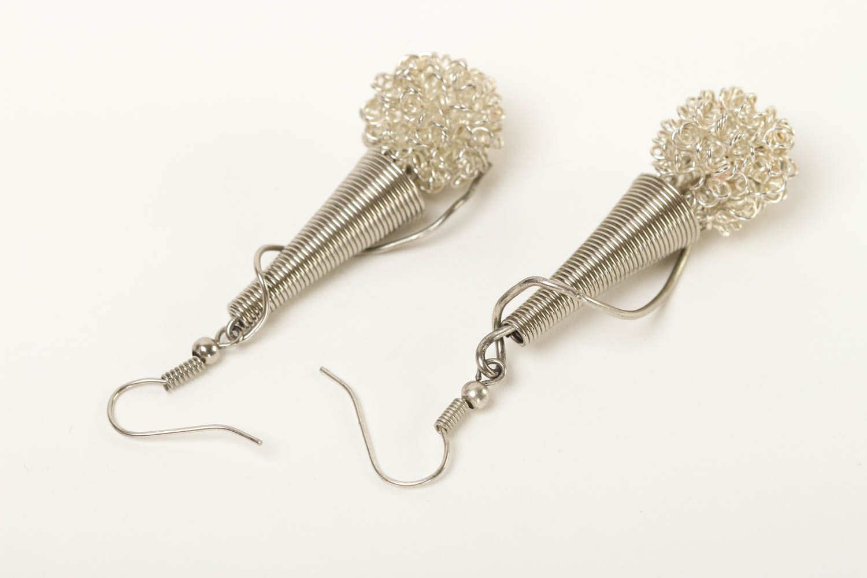 Stylish handmade metal earrings metal jewelry designs fashion trends for girls photo 4