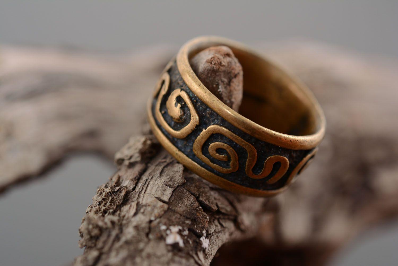 Bronze ring Fantasy photo 2