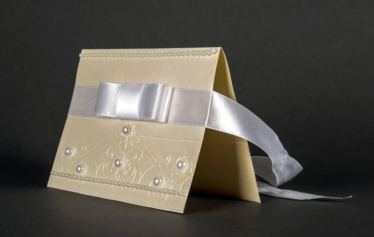 wedding accessories Money envelope white - MADEheart.com
