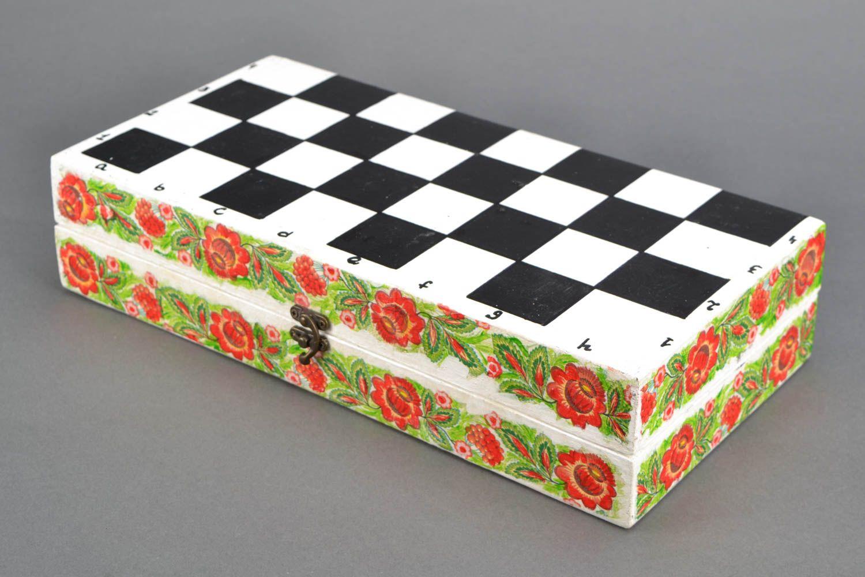 Unique designer chess set photo 4