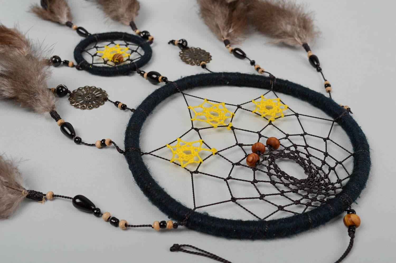 madeheart capteur de r ve fait main attrape cauchemar amulette objet suspendre. Black Bedroom Furniture Sets. Home Design Ideas