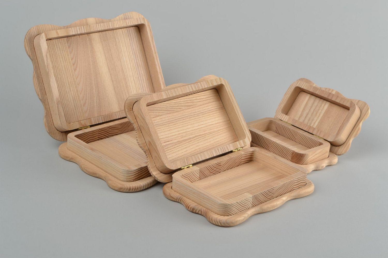 Madeheart cajas de madera para decorar o pintar hechas a - Cajas de madera para decorar baratas ...