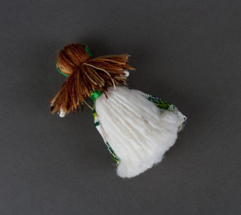 Beautiful handmade fridge magnet soft magnet doll kitchen design gift ideas photo 5