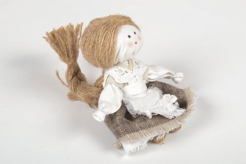Куклы животные из льна фото