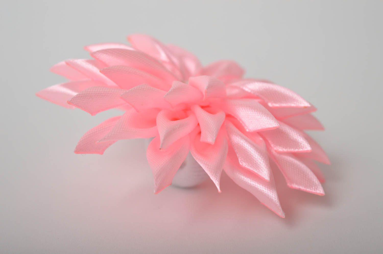 Украшение на голову ручной работы резинка с цветком украшение для волос фото 5