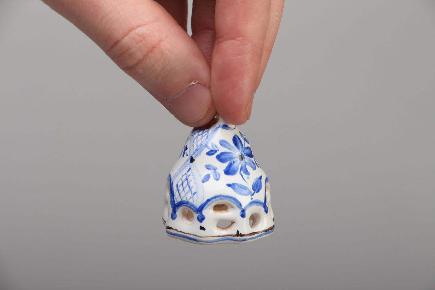 Small enameled bell photo 4