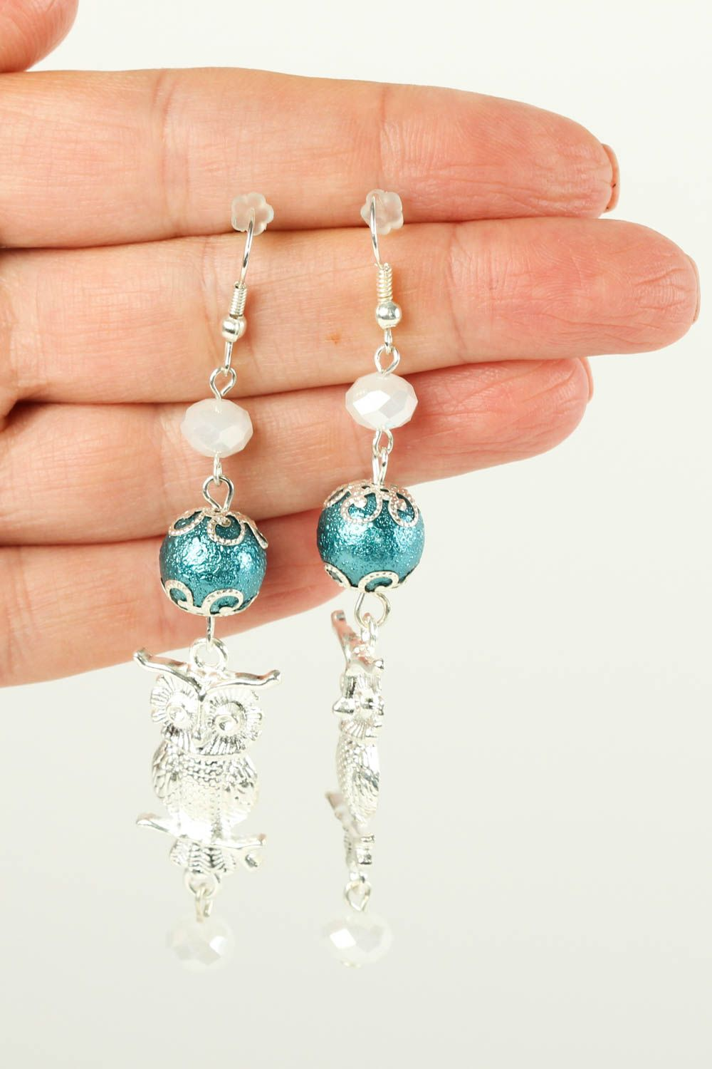Handmade earrings designer earrings gift ideas beaded jewelry for women photo 5