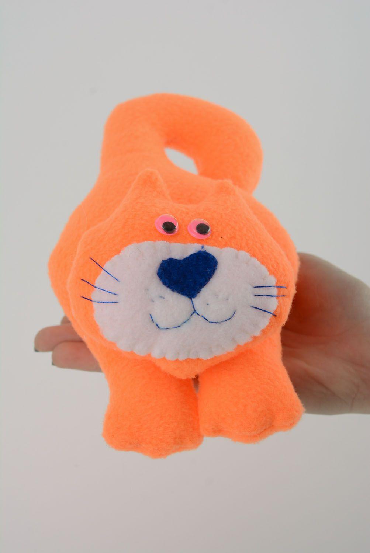 Soft toy for the door handle Orange Cat photo 4