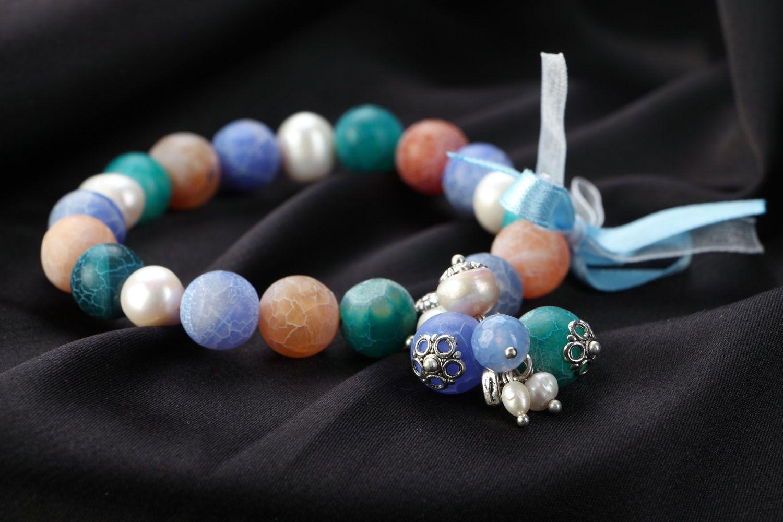 Unusual agate bracelet photo 2