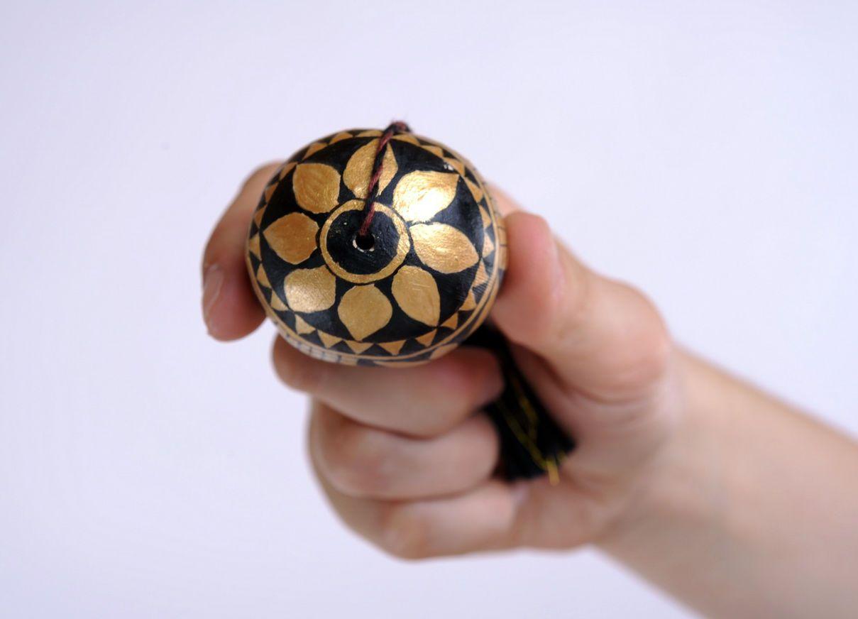 ceramic easter eggs Ceramic egg with cord - MADEheart.com