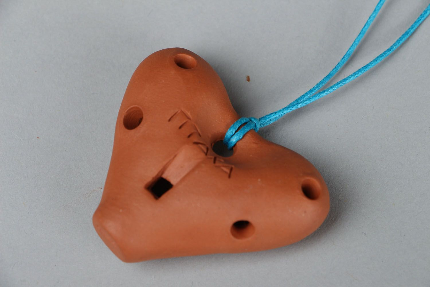 Homemade pendant in the shape of heart photo 3