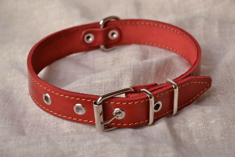Ошейники для собак из кожи своими руками