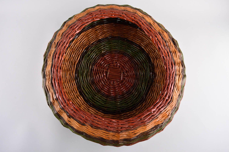 Wicker basket home decor handmade woven basket interior decor ideas home box photo 3
