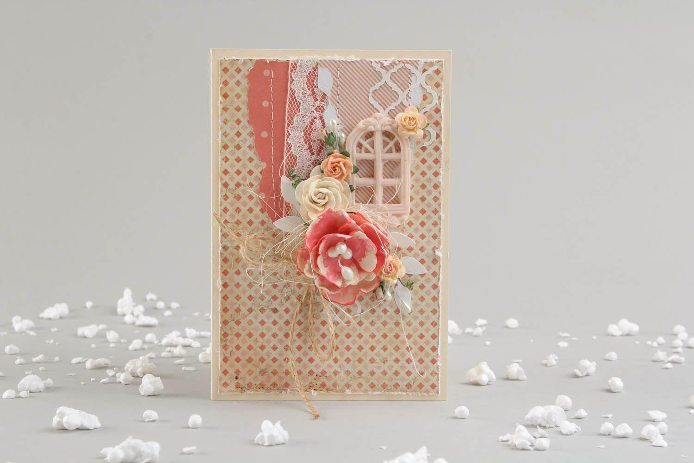 Scrapbooking post card photo 1