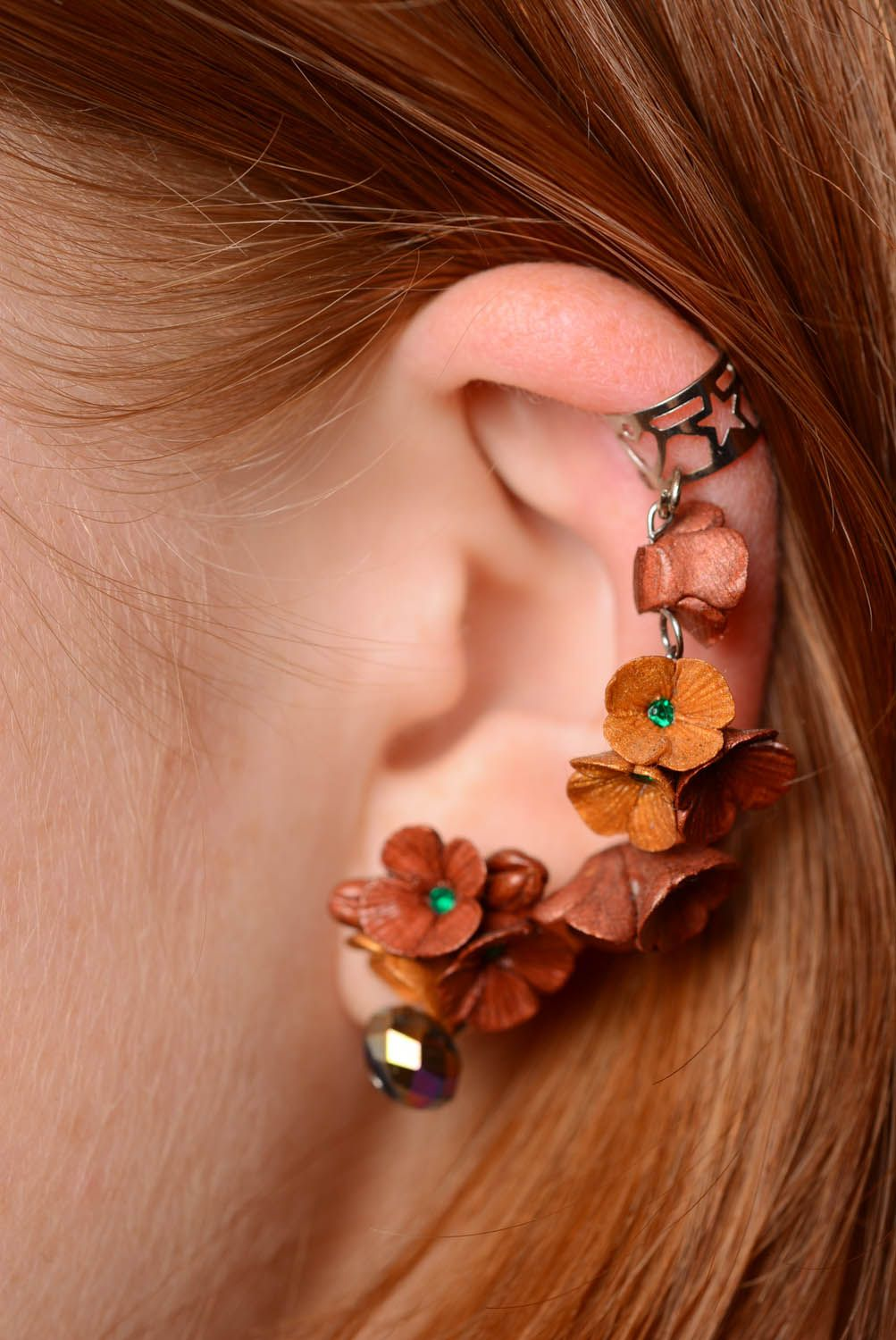 Cuff earrings Autumn Inspiration photo 3