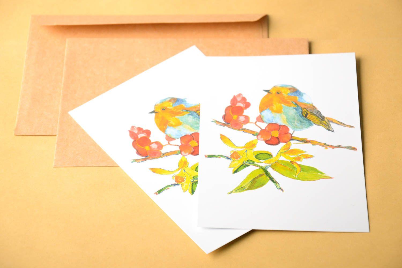 Handmade greeting card unusual gift ideas designer card for signature photo 1
