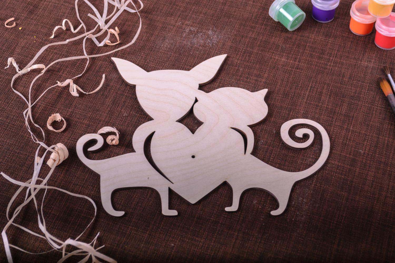 chipboards Blank for creativity designer wall clock DIY wall clock art supplies home decor - MADEheart.com