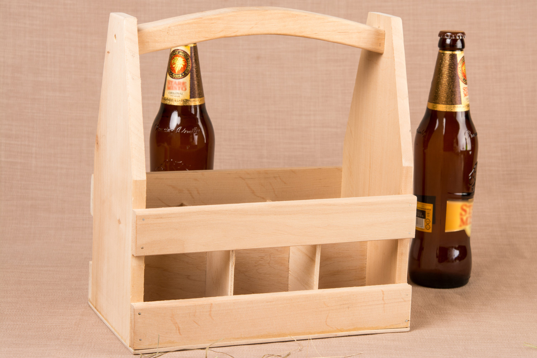 packing for bottles Beer bottle holder handmade wooden box for bottles kitchen ideas home decor - MADEheart.com