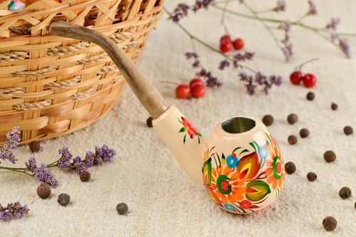 Handmade pipe designer pipe gift ideas decorative use only decor ideas - MADEheart.com