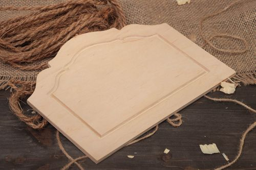 Designer plywood blank for wall panel for painting or decoupage home decor - MADEheart.com