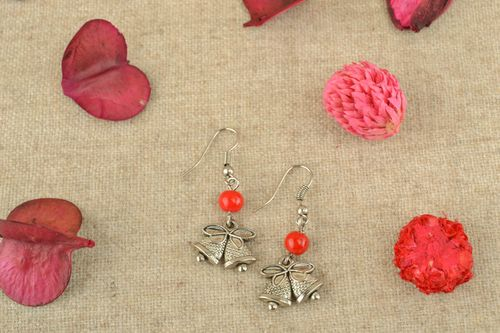Metal earrings Bells - MADEheart.com