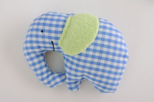 Homemade soft toy Elephant - MADEheart.com